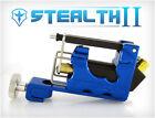 STEALTH 2.0 Aluminum Rotary Tattoo Machine Motor Liner Shader 3 Bearings BLUE