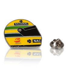 Ayrton Senna 1990 Helmet Pin Badge Mens Fanatics