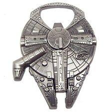 Star Wars Millennium Falcon Spaceship Metal Bottle Opener Keychain Keyring Gift