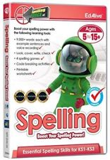 Spelling Force V2 (PC/Mac) Age 5-15 UK Curriculum - full product not download