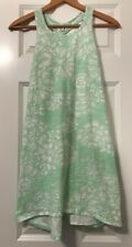 Old Navy Green And White Dress Size 10-12