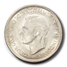 Australia George Vi Ram 1 Shilling 1944 Bu Km39