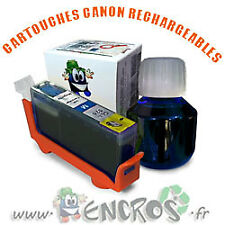 RECHARGEABLE Kit Cartouche Rechargeable Canon CLI8 Cyan