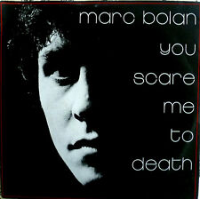 """7"""" 1981 GLAM! Marc Bolan (T. Rex) you Scare Me to Death"""