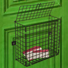 Extra Large Letterbox Cage Door Letter Box Guard Basket Post Mail Catcher 3 Size