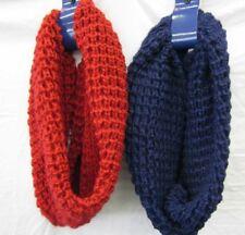Bufandas y pañuelos de mujer de acrílico color principal rojo