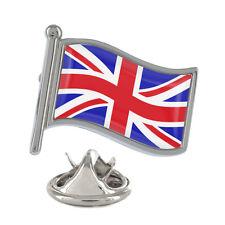 Union Jack Wavy Flag Pin Badge UK Kingdom British English New & Exclusive