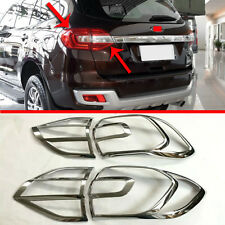 ABS Chrome Tail light Cover Trim For Ford Everest 2016 2017 2018