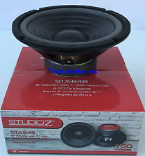 "1X Single 8"" inch 8 ohm Woofer Bass Speaker Studio Home Cabinet Box Replacement"