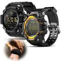 Bluetooth Smart Watch Waterproof smartwatch SMS Notifier for IOS Android Men Boy