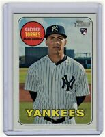 Gleyber Torres 2018 Topps Heritage Rookie Card #603 (New York Yankees)
