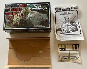 Star Wars Vintage Tri-logo Endor Forest Ranger Palitoy 83 *Box Inserts &In Only*