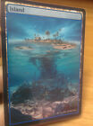 1x Island #3 Extended Textless Full Art Custom Altered Basic Land MTG