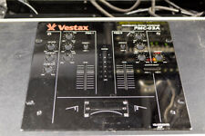 OEM Vestax PMC-03A Scratch Mixer Faceplate Used