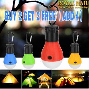 LED Camping Lamp Portable Lantern Mini Tent Light 3 Modes Waterproof Work Lights