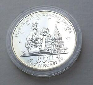 Ungarn 500 Forint 1994 PP ° Ungarn in Europa - Hl. Stephan ° Silber 925 31,46 g