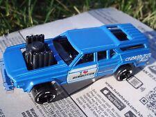 BLUE Cruise Bruiser. Demolition Derby Car. DHW97. HW Daredevils. LOOSE, fresh!