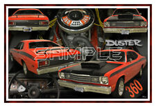 1973 Plymouth Duster Poster Print