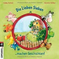 Die Lieben Sieben machen Geschichten von Gaby Scholz | Buch | Zustand gut