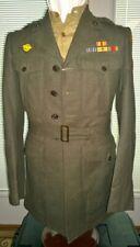 NICE WW2 USMC Marine Corps 4th Air Wing MAW Aviation Uniform Tunic Shirt EGA SSI