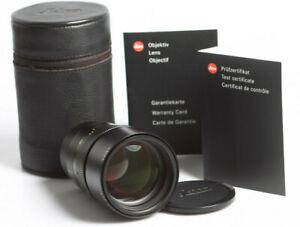 Leica Apo-Summicron-M 2/90 ASPH. E55 6-Bit GERMANY Lens