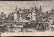 France Postcard - Chateau De Mesnieres - Le Chateau d'apres Une Vieille A2232