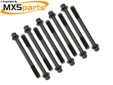 MX5 Cylinder Head Bolt Set 10 Bolt Mazda MX-5 1.6 1.8 Mk1 Mk2 Mk2.5 1989>2005