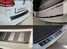 Loading Area Protector Stainless Steel Black with abbr. for Nissan X-Trail T32