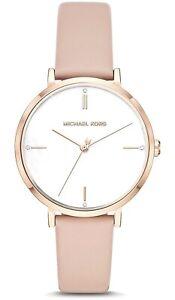 Michael Kors Women's Jayne Three-Hand Rose Gold Tone Watch MK7106
