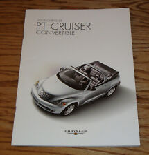 Original 2006 Chrysler PT Cruiser Convertible Sales Brochure 06