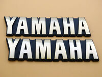 2X Yamaha RXK RX-K SR185 XV500 XV920 XZ550 Tank Emblem 3X0-24161-01 NEW PAIR OEM