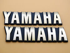 Set Petrol Oil Tank Emblem Decal Gold for Yamaha Motorcycle Models Custom 3D ABS