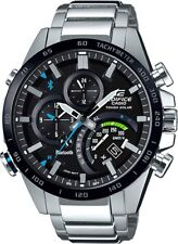 BRAND NEW CASIO EDIFICE EQB501XDB-1A BLACK LABEL BLUETOOTH SOLAR MENS WATCH NWT!