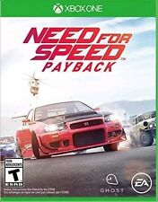 NEED FOR SPEED PAYBACK * XBOX ONE * BRAND NEW FACTORY SEALED!