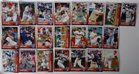 2015 Topps Series 1 & 2 Cleveland Indians Team Set of 22 Baseball Cards