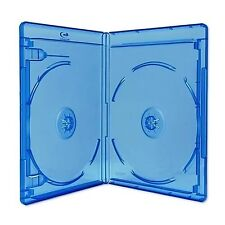 10 x Double (2) Disc Blu-Ray 11mm Storage Cases With Logo - Dragon Trading® B...