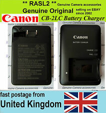 CANON Genuine Original Charger CB-2LC NB-10L Powershot G16 G15 SX50 SX40 HS G1 X