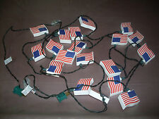 Usa Plastic Flag Christmas Lights (19)
