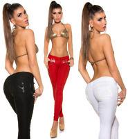 pantaloni donna skinny jeans elasticizzati slim colorati aderenti nuovi