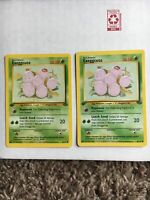 Exeggcute Jungle Set 1st Edition Pokemon Card #52/64 - NM - Lot Of 2