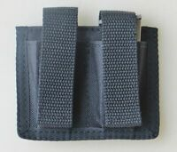 Black Double Magazine Pouch for Ruger LCP & S&W Bodyguard 380 Pistols