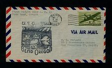 10/1/1946 Bend, Oregon First Flight Cover for CAM-11 - Beautiful and Pretty !