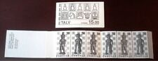 Faroe Stamp Booklet #01 1983 Chess Pieces Talv - MNH - Excellent!