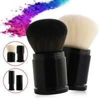 Maquillage de mode Kabuki rétractable visage Blush poudre pinceau Fondation co