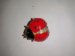 ladybug pin brooch