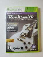 Brand New & Sealed! Rocksmith 2014 Edition Microsoft Xbox 360 No Cable Vers.