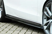 Seitenschweller Sideskirts aus ABS für Audi A5 B8 S-Line Facelift