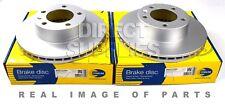 2 X FRONT AXLE BRAKE DISCS OPEL VAUXHALL MOVANO 2.2 2.5 1.9 3.0 COMLINE ADC1125V