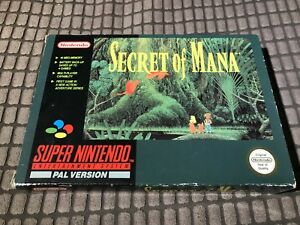 Secret Of Mana Snes Game! Complete! Look At My Other Games!