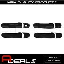 FOR GMC ACADIA 10~13, TERRAIN 2010~17, CHEVY HHR 06~13 BLACK 4 DOOR HANDLE COVER